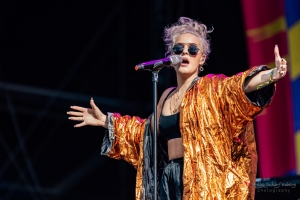 concert of Anne-Marie at Lollapalooza, Berlin (2017)