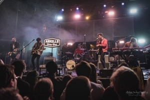 concert of Arkells at O2 Academy, Newcastle (2018)
