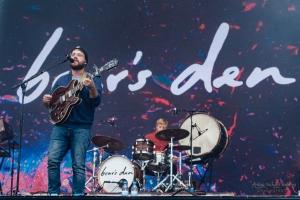 concert of Bear's Den at Lollapalooza, Berlin (2017)
