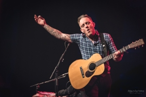 Dave Hause at Olympia Theatre in Dublin in 2018