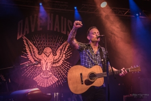 concert of Dave Hause at Rock City, Nottingham (2018)