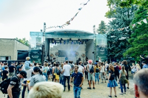 concert of DinoSound at Bergfunk Open Air (2018)