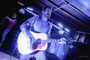 concert of Frank Turner at La Machine in Nancy