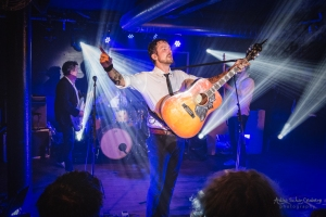 Frank Turner & The Sleeping Souls at The Garage in Aberdeen