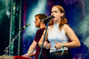 concert of Lilly Among Clouds at Bergfunk Open Air (2018)