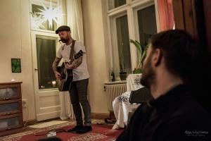 Concert of Mick Hargan in Potsdam in 2017