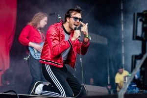 concert The Vaccines at Lollapalooza, Berlin (2017)