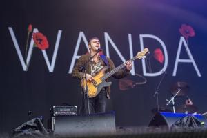 concert of Wanda at Lollapalooza, Berlin (2017)