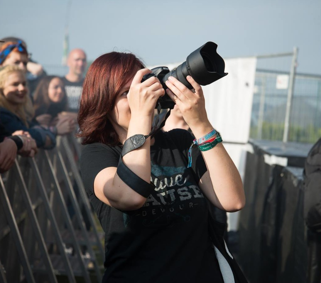Adina Scharfenberg, Konzertfotografin aus Berlin