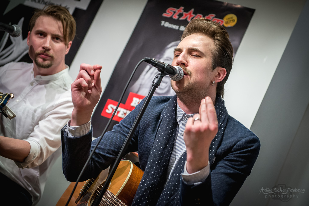 Royal Republic 26.2.2016 (Star FM kitchen, Berlin)