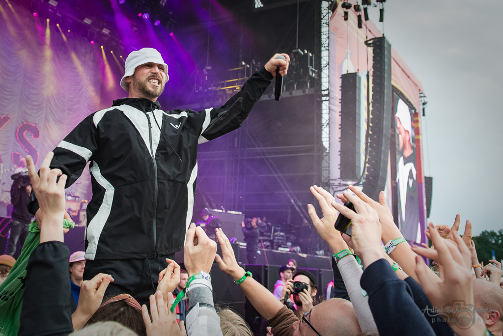 Beatsteaks at Lollapalooza Festival, Berlin (2017)