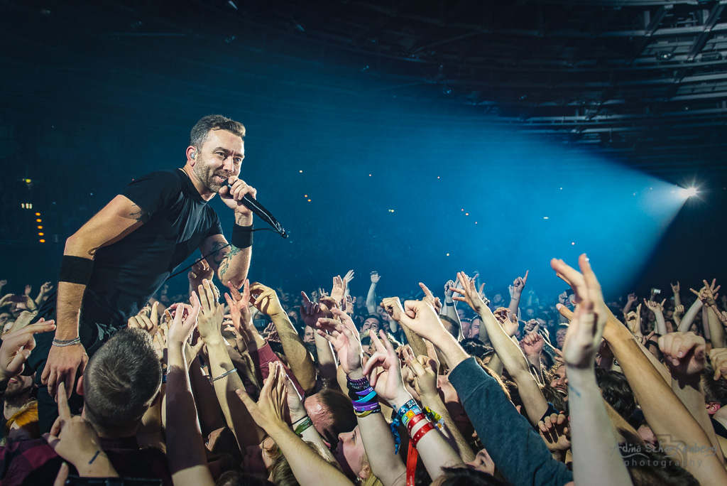 Rise Against at Velodrom, Berlin (2017)