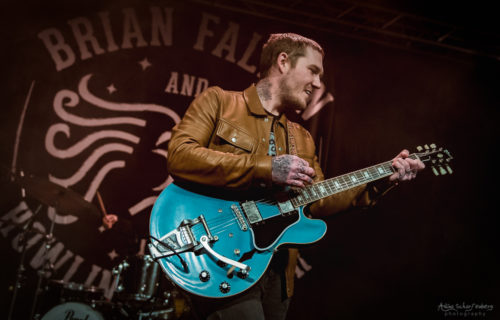 Brian Fallon at Rock City, Nottingham (2018)