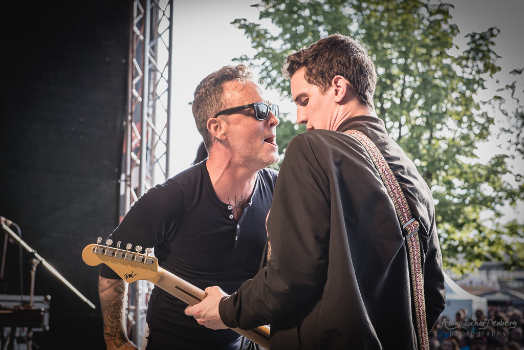 Dave Hause And The Mermaid at Vainstream Rockfest, Münster (2017)