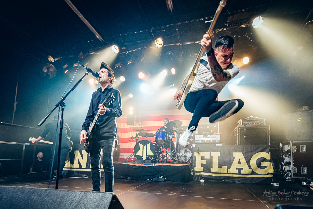 Anti Flag at SO36, Berlin (2018)