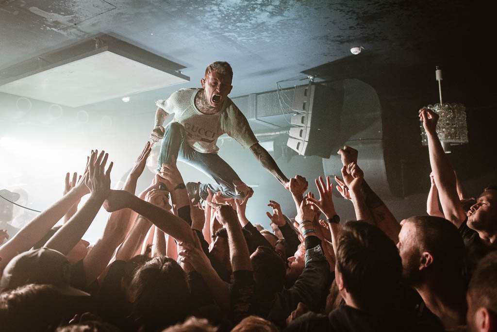 Frank Carter And The Rattlesnakes at Bi Nuu, Berlin (2018)