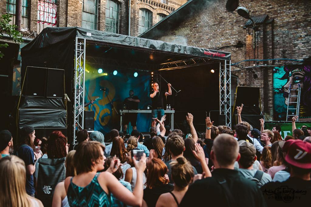 Goldroger during Fête De La Musique, Berlin (2017)