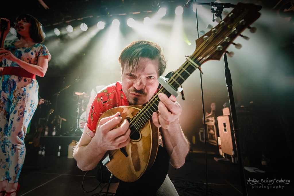 Skinny Lister at SO36, Berlin, 2019)