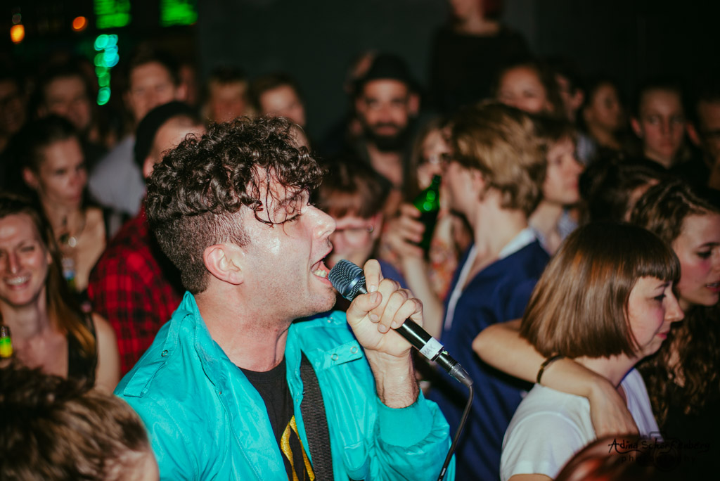 Arkells at Fluxbau, Berlin (2014)