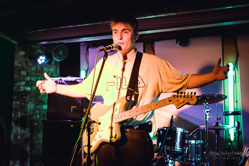 Sam Fender at Auster Club, Berlin (2018)