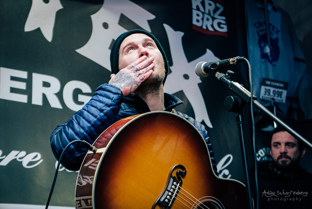 Brian Fallon at Core Tex, Berlin (2018)