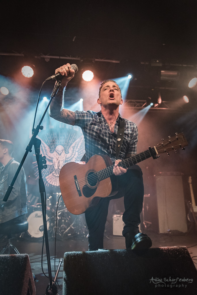 Dave Hause at Rock City, Nottingham (2018)