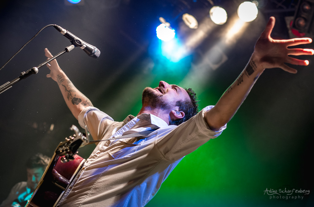 Frank Turner & The Sleeping Souls at Lucerna Bar, Prag (2014)