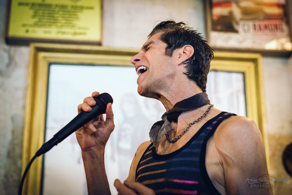 Perry Farrell at Ramones Museum, Berlin (2019)