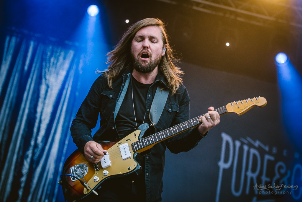 Band Of Skulls during Pure & Crafted Festival in Berlin (2016