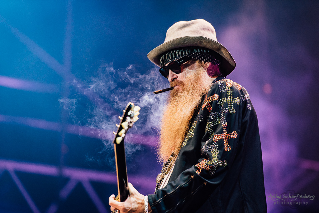 ZZ Top at Zitadelle Spandau, Berlin (2017)