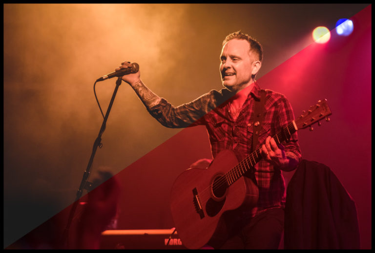 Dave Hause at house show, Vienna (2018)