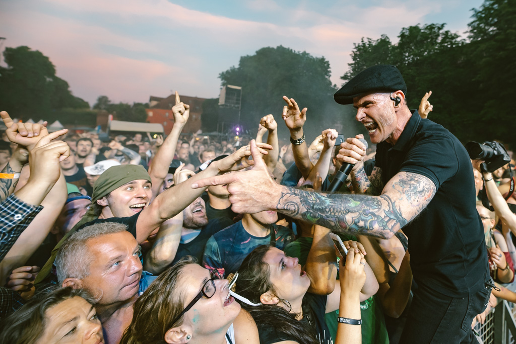 Dropkick Murphys at Zitadelle Spandau, Crash Fest Berlin (2019)