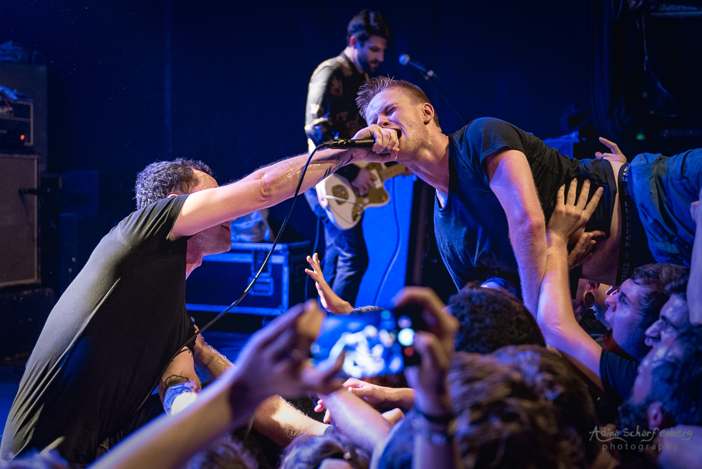 Touché Amoré at SO36, Berlin (2018)
