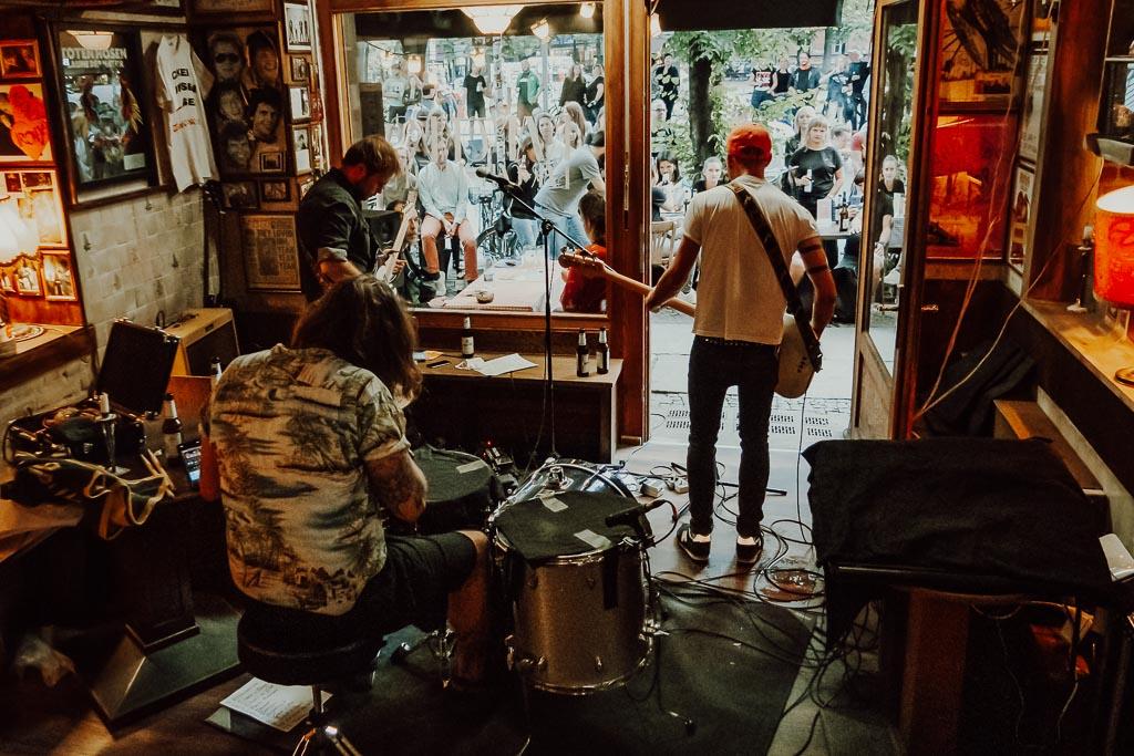 Vizediltator at Ramones Museum, BerIin (2020)