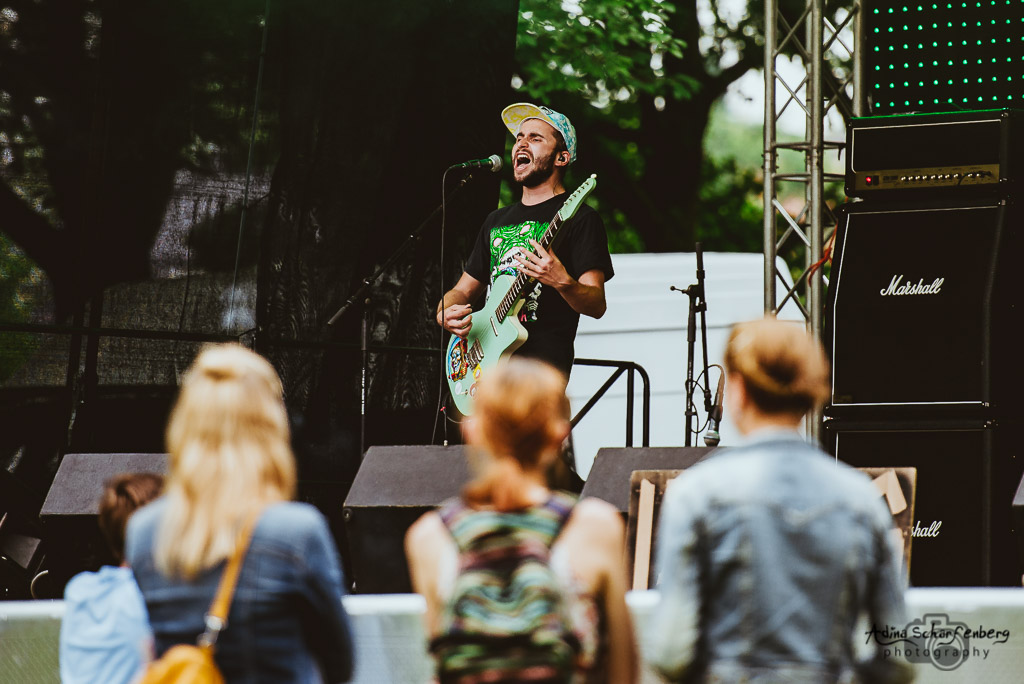 Ibrahim Lässing at Teichrock Festival, Bad Salzdetfurth (2016)