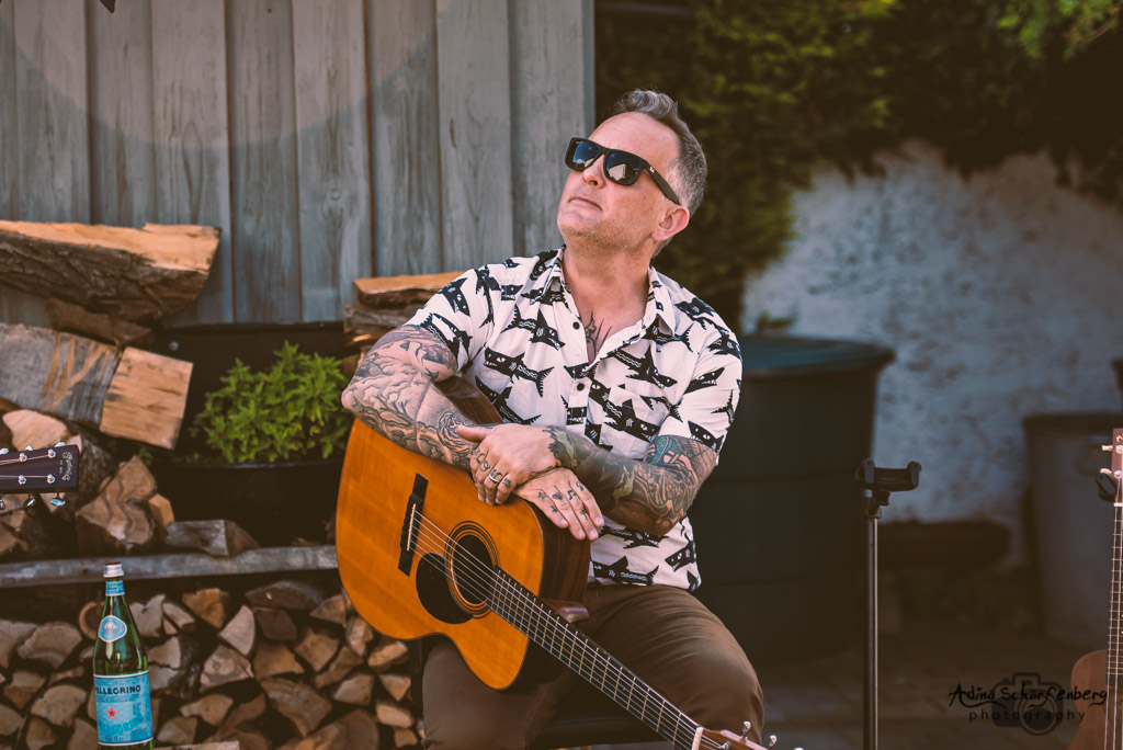 Dave Hause at a house shows, Berlin (2021)